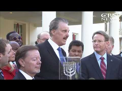 "President Trump Merits the Prestigious ""Friend of Zion"" Award"