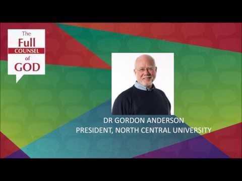 Dr. Gordon Anderson - What Does it Mean to Be Human?