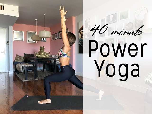 40 Minute Power Yoga