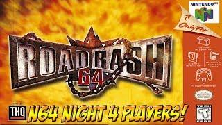 N64 Night! Road Rash 64 Multiplayer! - YoVideogames