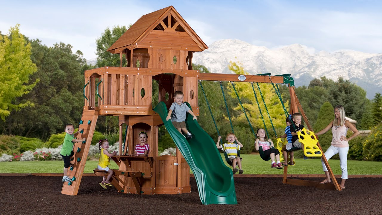 Woodland Swingset Promo Video Youtube