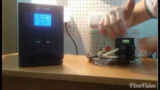 Бесперебойник для котла, ИБП Logic Power  LPM PSW-500, видеобзор, отзывы, характеристики