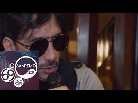 Sanremo 2019 - Fabrizio Moro: 'in Ultimo rivedo Fabrizio a vent'anni'