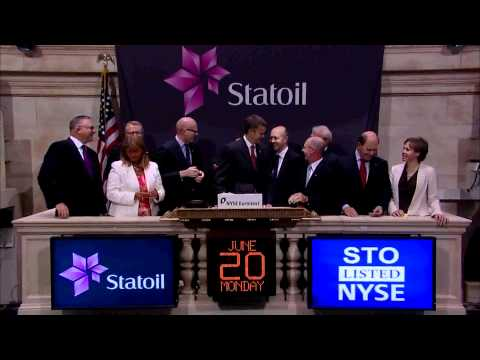20 June 2011 Statoil rings the NYSE Closing Bell