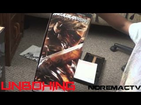 NTV Unboxing - Metal Gear Rising Revengeance (Limited Edition) - [PS3] - 2.19.13