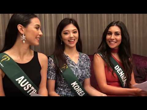 Miss Earth Crown Chat 1: Australia, South Korea And Denmark