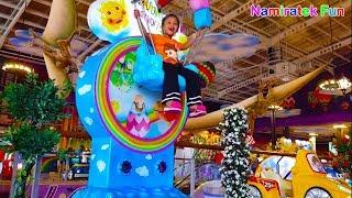 Naik Odong Odong Lucu & Odong Odong Pesawat Lucu Kiddie Rides play mini merry indoor Playground Area
