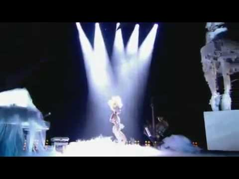 LADY GAGA : Brit Awards - Telephone Ft. Beyonce & Dance In The Dark [HDTV]