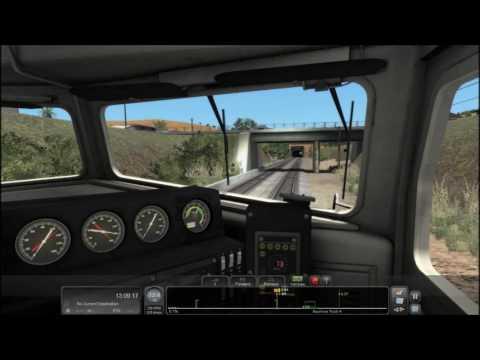 Train Simulator 2017 HD: Operating Caltrain EMD F40PH-2CAT 918 on Local Train 150 (12/17/16)