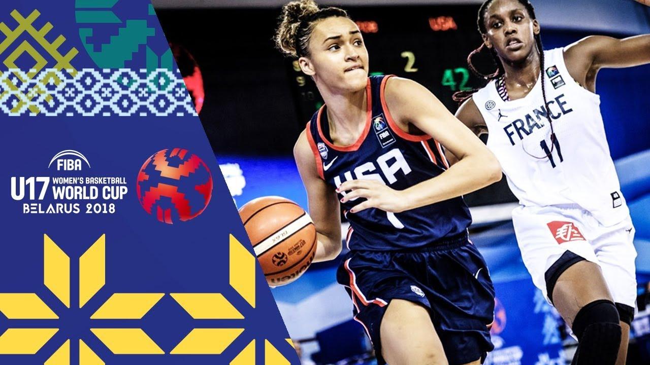 France v USA - Highlights  - Final