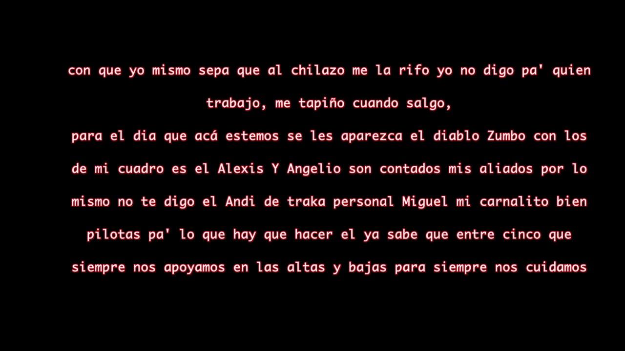 El panin V6 Letra /  lyrics