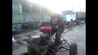 Трактор своими руками. Полтава.(, 2013-02-21T11:56:57.000Z)
