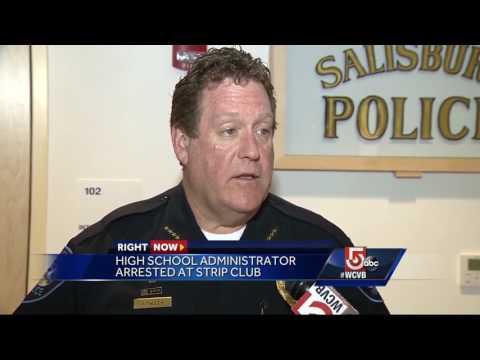 High school administrator arrested at strip club