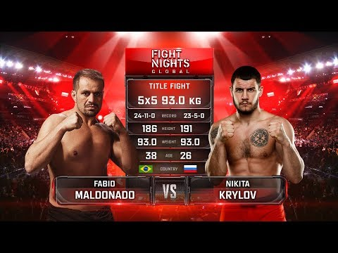 Никита Крылов vs. Фабио Мальдонадо / Krylov vs. Maldonado