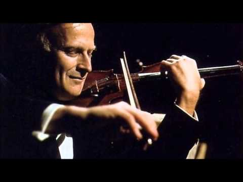 """Yehudi Menuhin """"Violin Concerto"""" Beethoven"""