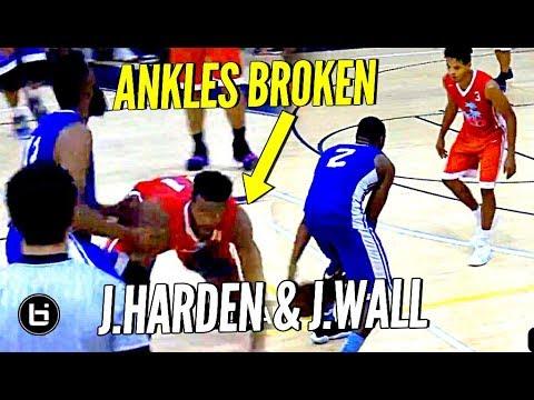 James Harden Drops Defender & John Wall Hits Between Defenders Legs?!? Miami Pro League Highlights!