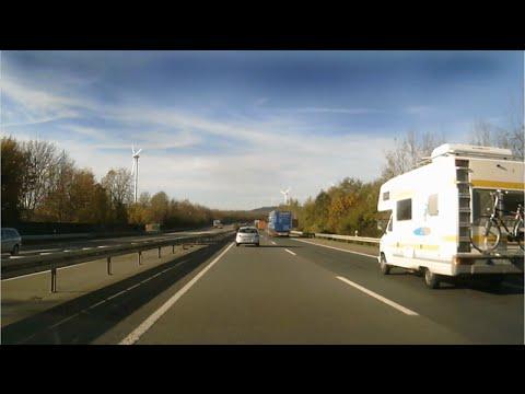 Driving thru Germany (DTG) Trip03 Lüdenscheid to Lünen (Timelapse)