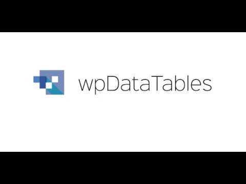How to show and hide columns in WordPress Tables with wpDataTables plugin