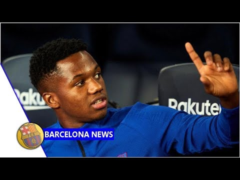 Ansu Fati Called Up To Replace Carles Perez In Spain U21 Squad- News Now