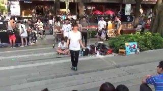 單人花式跳繩/草悟道之「民風」表演01 (105.04.24)【FB中學生學後園】