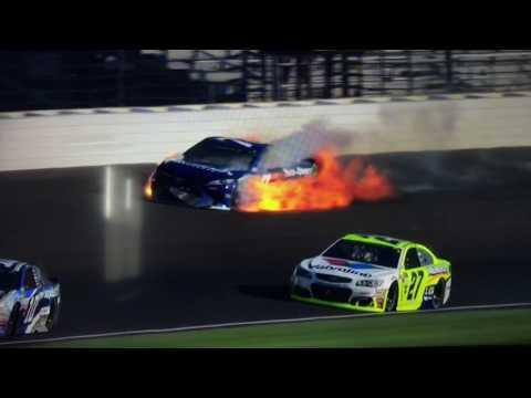 Kyle Busch & Martin Truex Jr. Crash at Indianapolis!