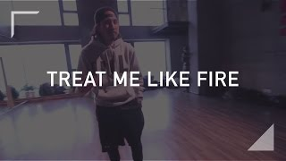 "Shaun Evaristo choreography ""Treat Me Like Fire"" by Lion Babe"