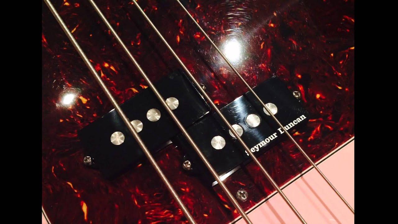 Seymour Duncan Quarter Pounder P Bass Pickup Test - YouTube