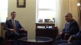 Jared Kushner, Jason Greenblatt Meet Israeli PM Netanyahu - June 22, 2018