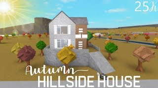 ROBLOX l Bloxburg: Autumn Hillside House {25K}