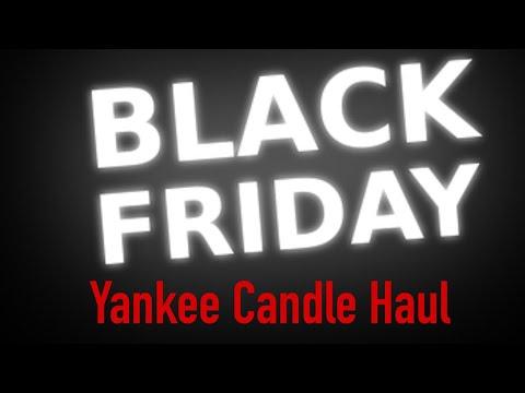 yankee candle black friday 2017 haul youtube