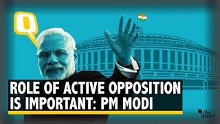 PM Modi Addresses the Media Ahead of the First Parliament Session Post Polls | The Quint