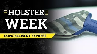 USCCA Holster Week: Concealment Express Holsters