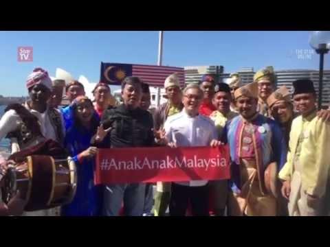 #anakanakmalaysia, abroad