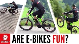 Are E-Bikes Fun?