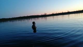Лесное озеро! Купание! Крик! Эхо! Медитация! Природа! Лес!