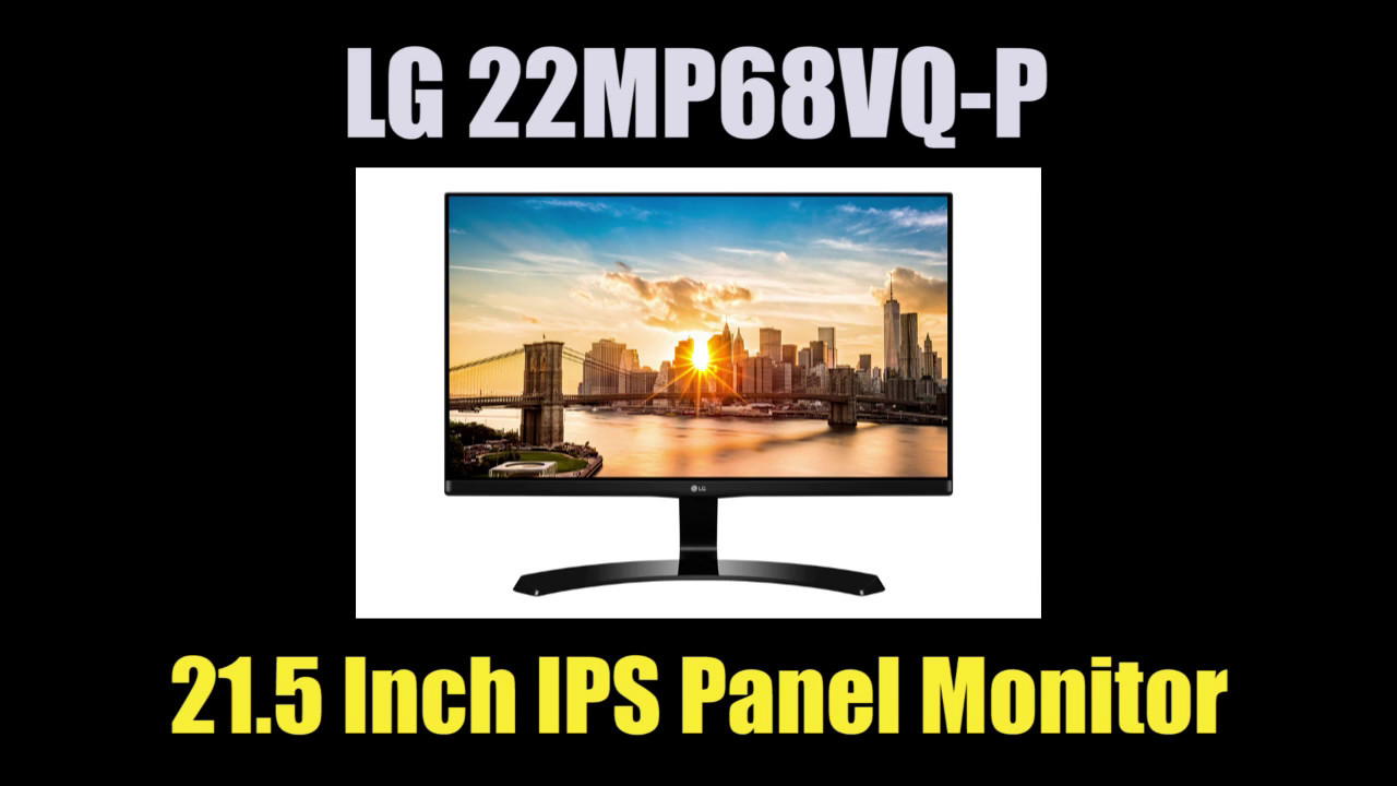 Lg 22mp68vq P 215 Inch Ips Panel Chinema Screen Monitor Youtube Led 22