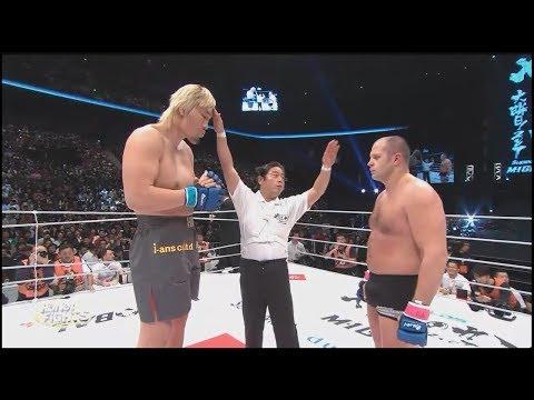 Top Biggest Fighters vs. Small – best knockouts / Огромные бойцы против маленьких