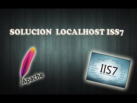 Solucion del Error en localhost muestra IIS7 Wampserver, Xamp en Windows 7, 8 y 10