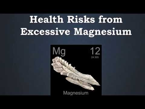 Magnesium Overdose And Toxicity Symptoms