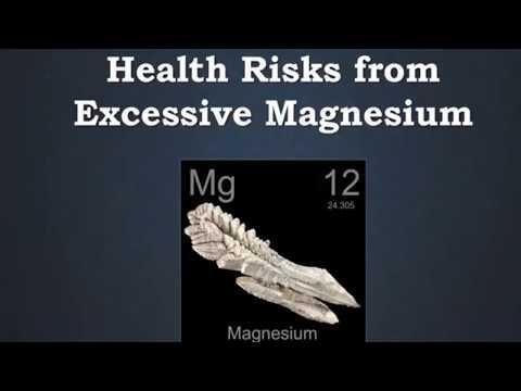 Magnesium Overdose And Toxicity Symptoms