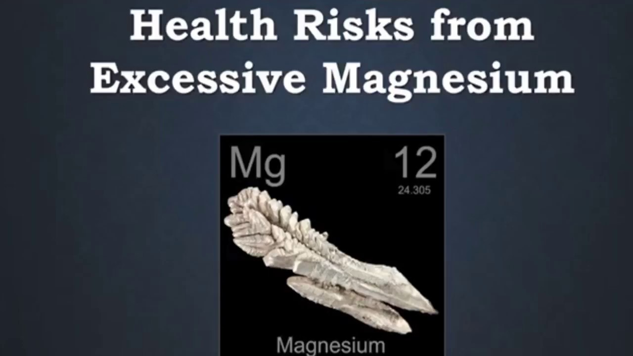Magnesium overdose is rare, but it IS possible  Are you at risk?