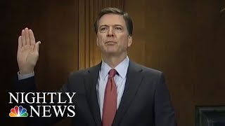 James Comey Cleared To Testify As Hillary Clinton Again Defends Her Election Loss | NBC Nightly News