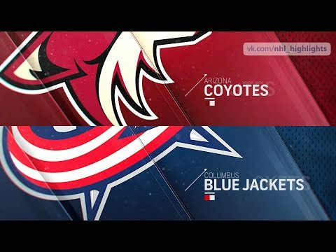 Arizona Coyotes vs Columbus Blue Jackets Oct 23, 2018 HIGHLIGHTS HD