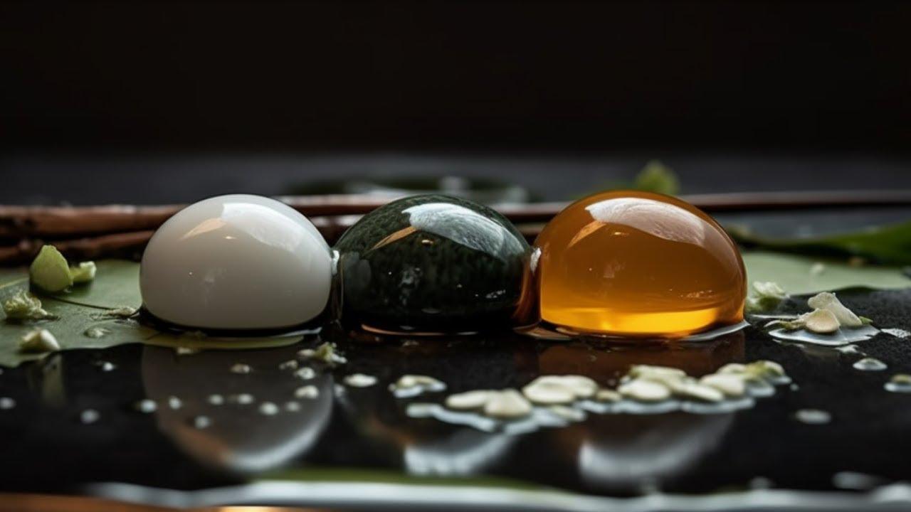 How to make LIQUID SPHERES   Easy Molecular Gastronomy