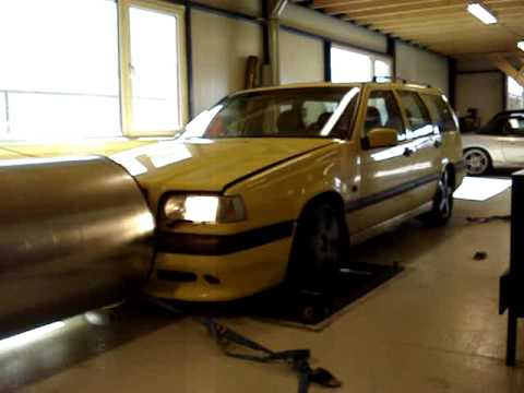 FASTTECH TUNING: Volvo 850 T5R 328Pk 425Nm - YouTube