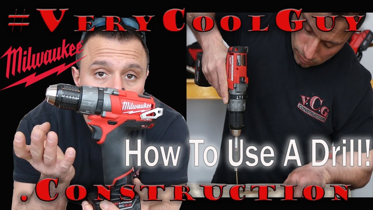 How To Operate A Cordless Hammer Drill And The Different Settings