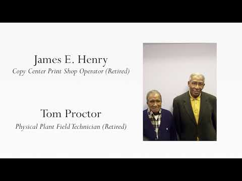Macon Memories Interview 17: James E. Henry and Tom Proctor