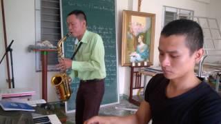 Dấu ấn tình yêu - Saxophone Quốc Triệu - Piano Quang Thọ.