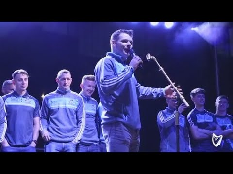 WATCH: Kevin McManamon breaks into song at emotional Dublin homecoming