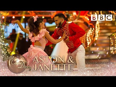 Aston Merrygold & Janette Manrara Jive to 'What Christmas Means To Me' - BBC Strictly 2018